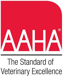 American Animal Hospital Association (AAHA) accreditation!